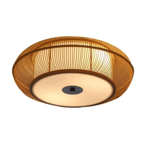 bamboo ceiling light