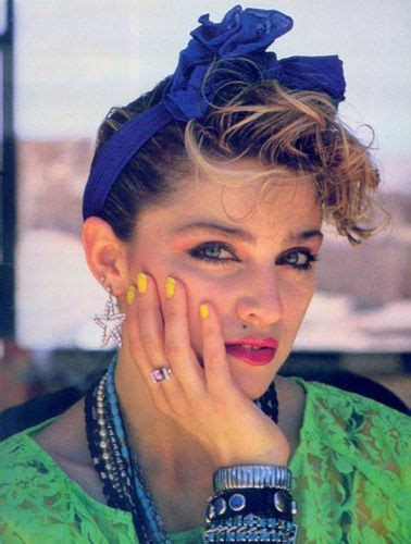 popcorn hair madonna has there ever been a celebrity that knew how to
