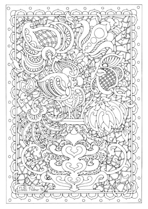 Printable Adult Coloring Pages Hard And Advanced Complicated Coloring Pages
