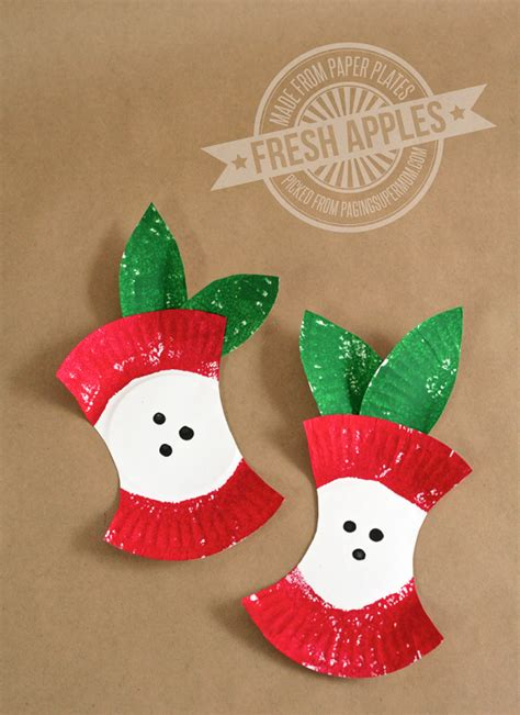 Apple Paper Craft - the of fall apple crafts for