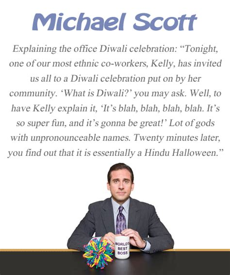 Diwali The Office by Quote Pictures Michael Quote The Office Diwali