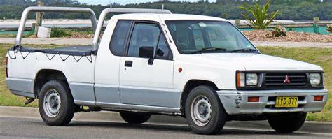 mitsubishi strada 1995 mitsubishi strada l200 2 generation 1991 1996