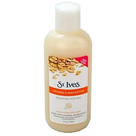 St Ives Travel Size st ives moisturizing bodywash oatmeal shea butter 3oz