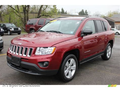 red jeep compass 2011 jeep compass 2 4 latitude 4x4 in deep cherry red
