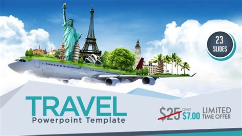 travel powerpoint templates backgrounds