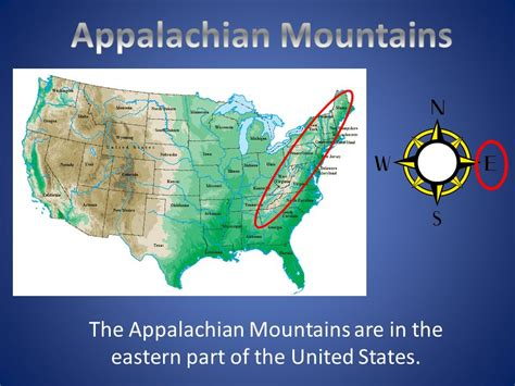 map of the united states mountains united states map appalachian mountains best 25