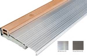 aluminum door aluminum door threshold replacement