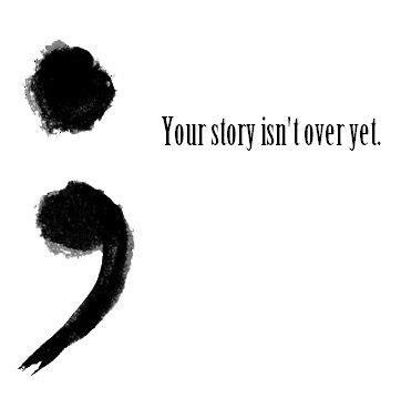 semicolon tattoo meaning self harm depression self harm story not semi colon
