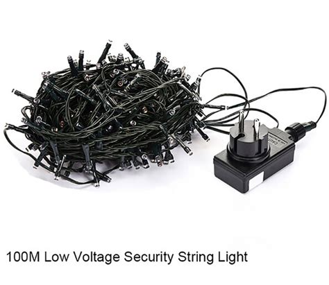 100m 500led 24v Low Voltage String Lights Christmas Light Low Voltage Outdoor String Lights