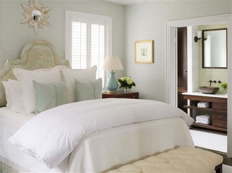 tufted bench transitional bedroom phoebe howard