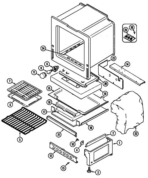 gas stove diagram magic chef 6498vvv gas range timer stove clocks and