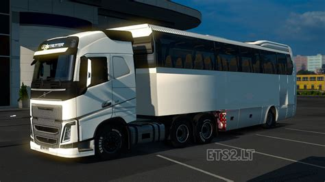 couch buses coach bus trailer ets 2 mods
