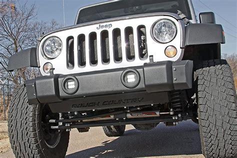jeep lights 2 inch square cree led fog light kit for 10 17 jeep jk