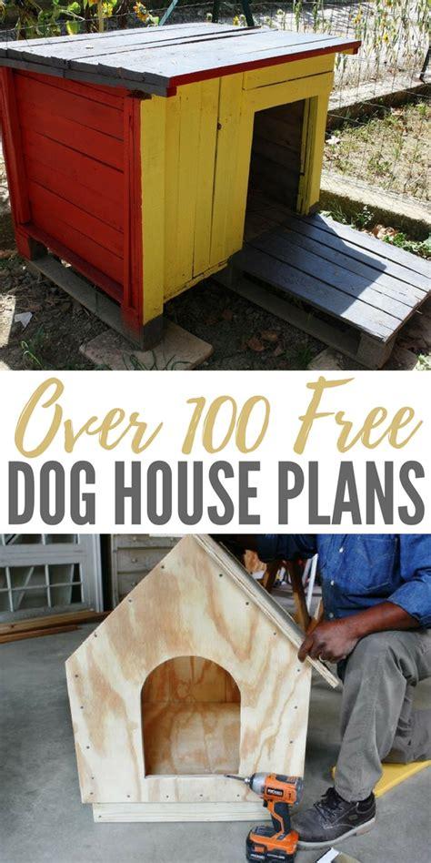 free dog houses on craigslist over 100 free dog house plans
