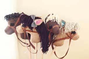 diy stick pony diy stick