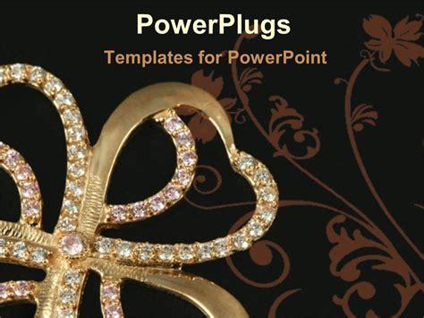 Jewelry Powerpoint Background Style Guru Fashion Glitz Jewelry Ppt Templates Free