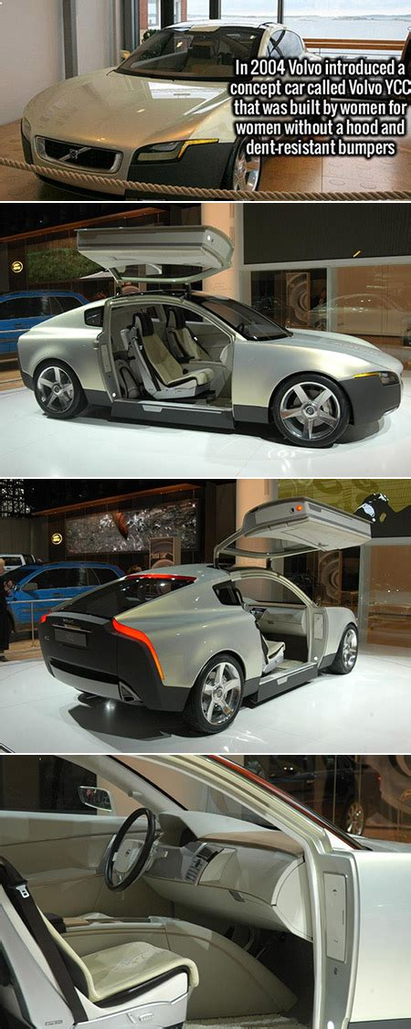 futuristic volvo ycc designed   women    fascinating facts techeblog