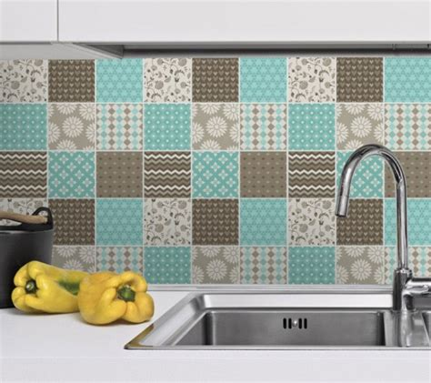 Retro Kitchen Wall Stickers le carrelage adh 233 sif carreaux de ciment un relooking