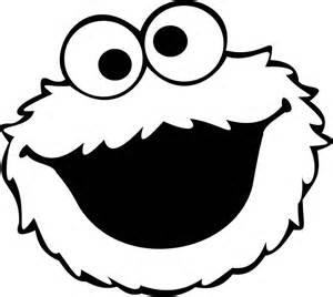 Pin cookie monster face template on pinterest