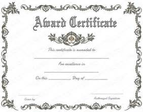 certificate template free printable free printable certificate of recognition search
