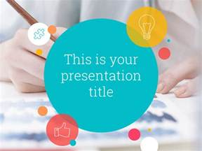 Powerpoint Themes Templates by Free Playful Design Powerpoint Template Or Slides