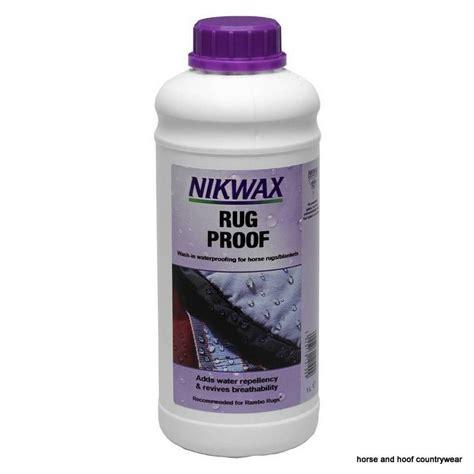 proof rug nikwax rug proof