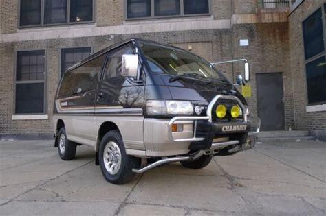 1991 Mitsubishi Delica Chamonix Quigley Syncro Vanagon