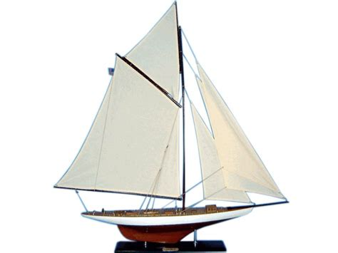 model boat sails buy wooden columbia limited model sailboat decoration 45