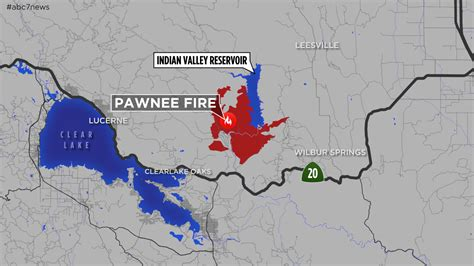 lake county california map maps a look at the pawnee burning in lake county