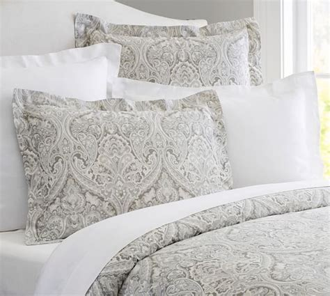 pottery barn paisley bedding mackenna paisley duvet cover sham blue pottery barn