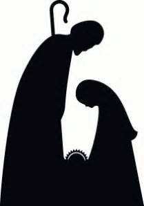geburt christi silhouette and krippenspiele on pinterest