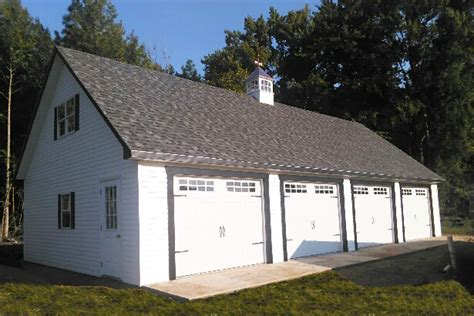 4 stall garage plans 4 bay garage with loft log garages amish storage sheds wood sheds vinyl storage shed kit
