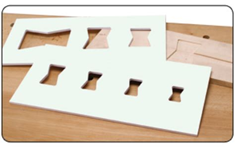 butterfly router template inlay kits templates