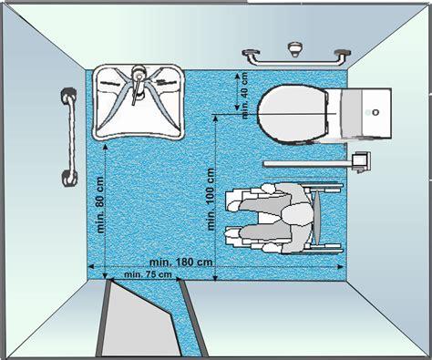 misure per bagno disabili normative bagni disabili