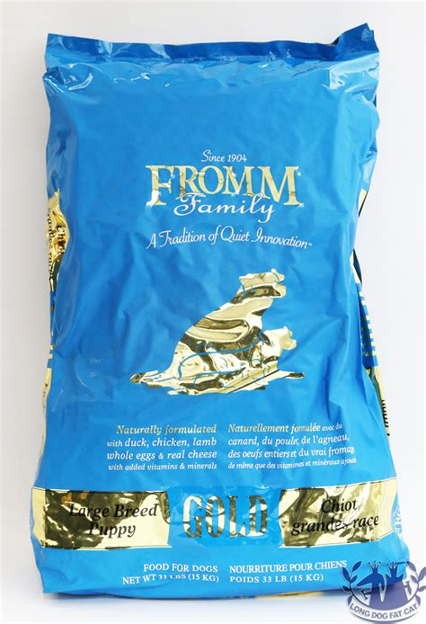 fromm gold puppy food fromm large breed puppy gold food