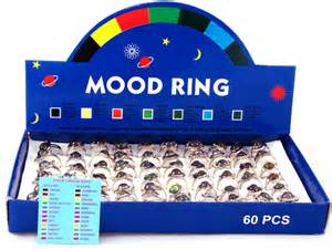 what do the colors on a mood ring mood rings 1970 s mortal journey