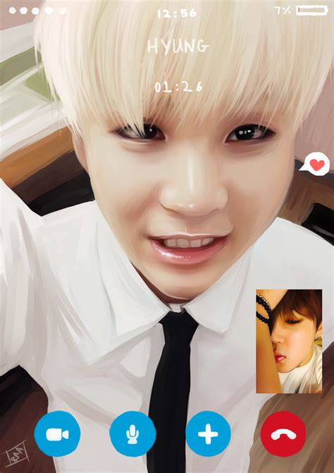 Or Yoonmin Yoonmin On Skype By Cosmicpens On Deviantart