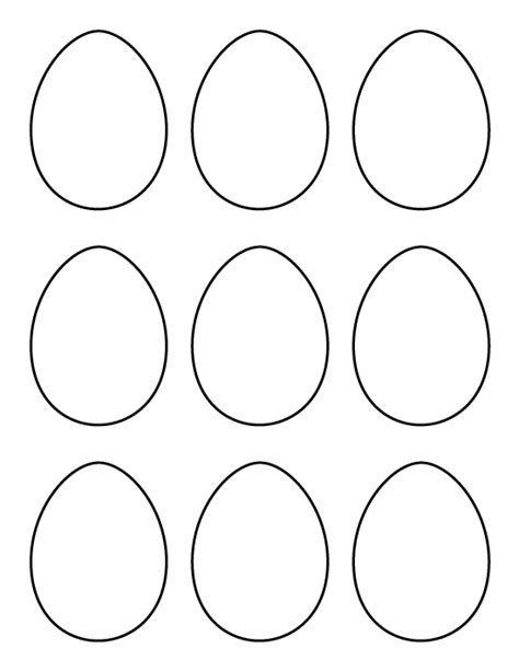 small easter egg template printable small egg pattern use the pattern for crafts