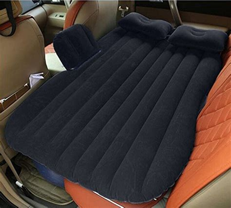 car mattress car bed mobile cushion cing air bed with motor two pillows for