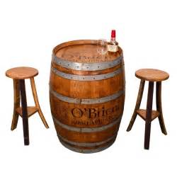 whisky tisch whiskey barrel pub table from kentucky distillery