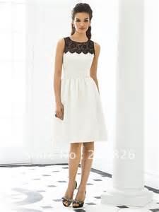 black and white lace bridesmaid dresses ipunya