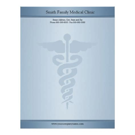 physician medical doctor letterhead zazzle