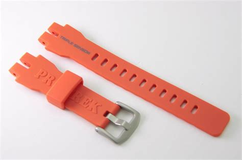 Casio Prw 3000 9b Original casio original band prw 3000 4 orange pro trek