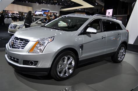 Used 2013 Cadillac Srx by 2013 Cadillac Srx Live Photos 2012 New York Auto Show
