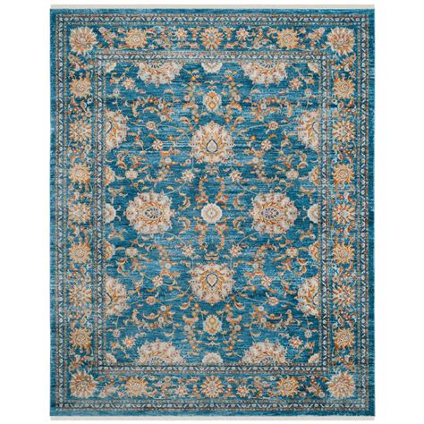 safavieh vintage turquoise multi 5 safavieh vintage turquoise multi 9 ft x 11 ft 7 in area rug vtp469k 9 the home depot