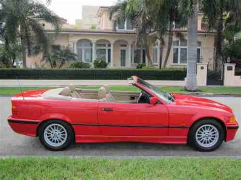 sell used 1998 bmw 323is sell used 1998 98 bmw 323i convertible 323ci 323cic leather 6cd low miles florida in