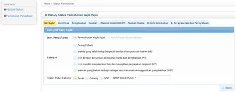 buat npwp pribadi secara online cara mudah membuat npwp secara online