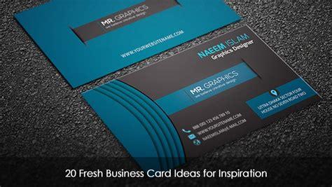 fresh business card ideas  inspiration