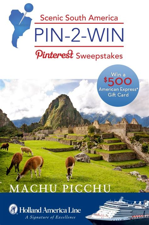 Holland America Gift Card - 392 best pin tests contests win images on pinterest gift cards to win and enter