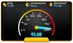 speed test fibra ottica velocita mhz informatica piacenza